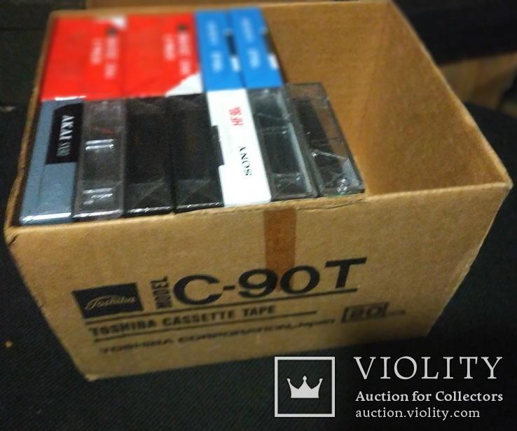 Аудиокассеты разные в упаковке и запайке 13 шт, фото №2