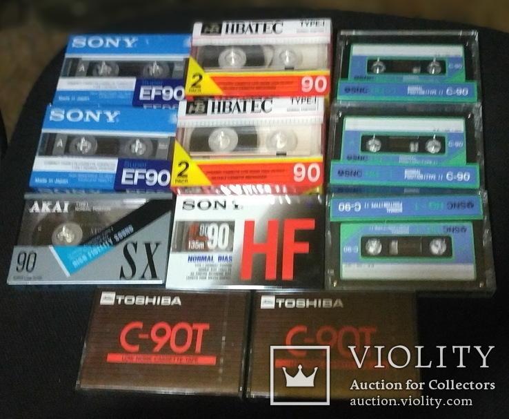 Аудиокассеты разные в упаковке и запайке 13 шт, фото №3