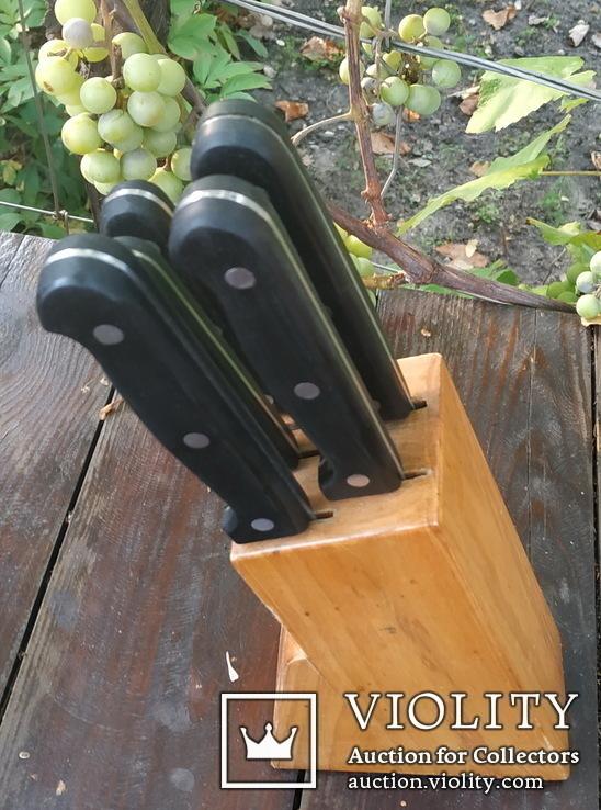 Набор ножей с подставкой МВМ AUSTRIA, фото №3