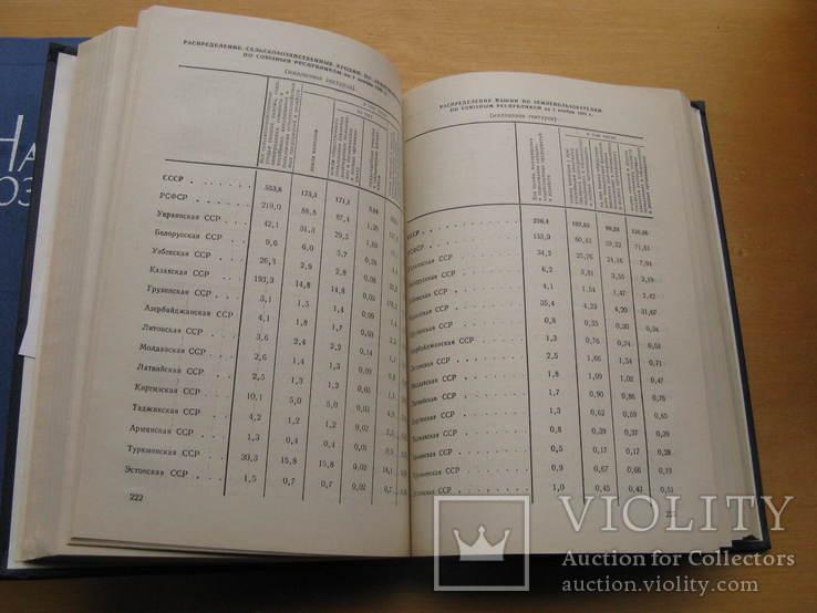 Статистический ежегодник. Народное хоз. СССР. 1977, 1980.(2 книги), фото №6