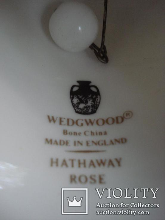 Колокольчик костяного фарфора Wedgwood. Англия., фото №6