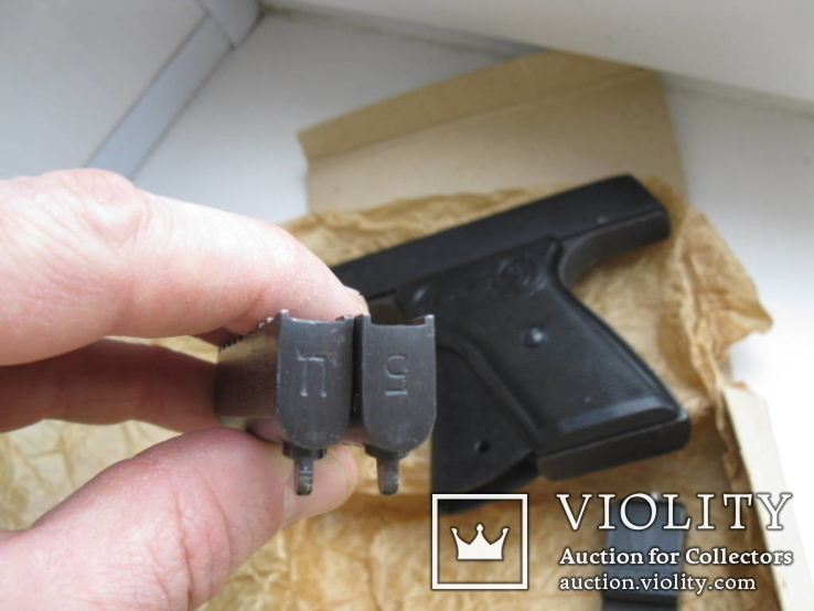 Пистолет стартовый в упаковке, фото №3
