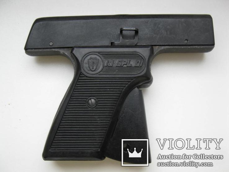 Пистолет стартовый в упаковке, фото №8