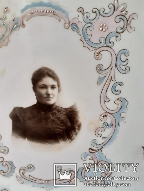 Тарелка настенная с портретом, фото №3