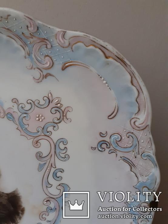 Тарелка настенная с портретом, фото №4