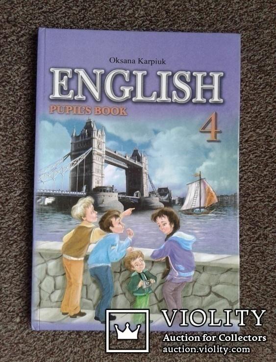 Англiйська мова. (Учебник для 4-го класса, 2012 год)., фото №2