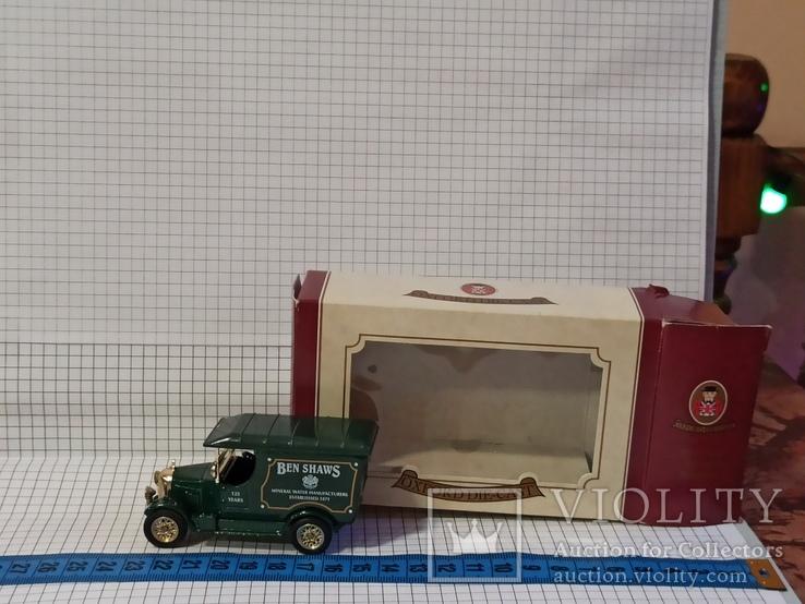 Oxford die-cast Ben Shaws минеральная вода 125 лет 1871 1996 модель фургон грузовик, фото №2