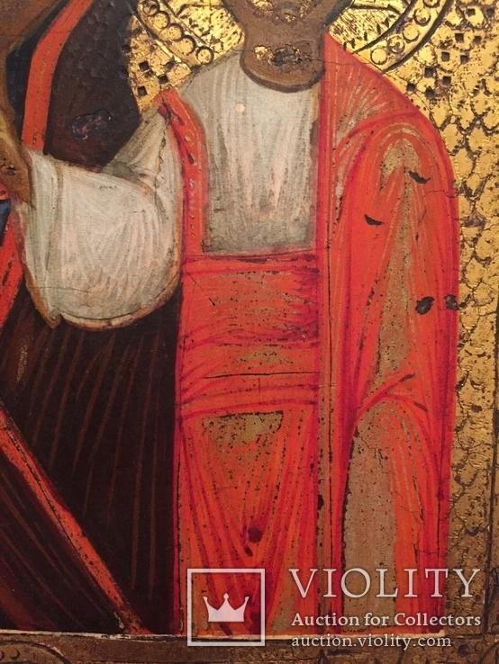 Икона Богородицы Золото, резьба, фото №8