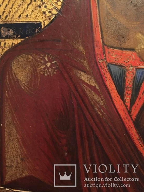 Икона Богородицы Золото, резьба, фото №9