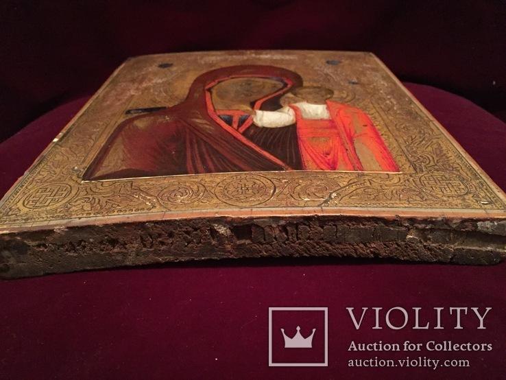 Икона Богородицы Золото, резьба, фото №12