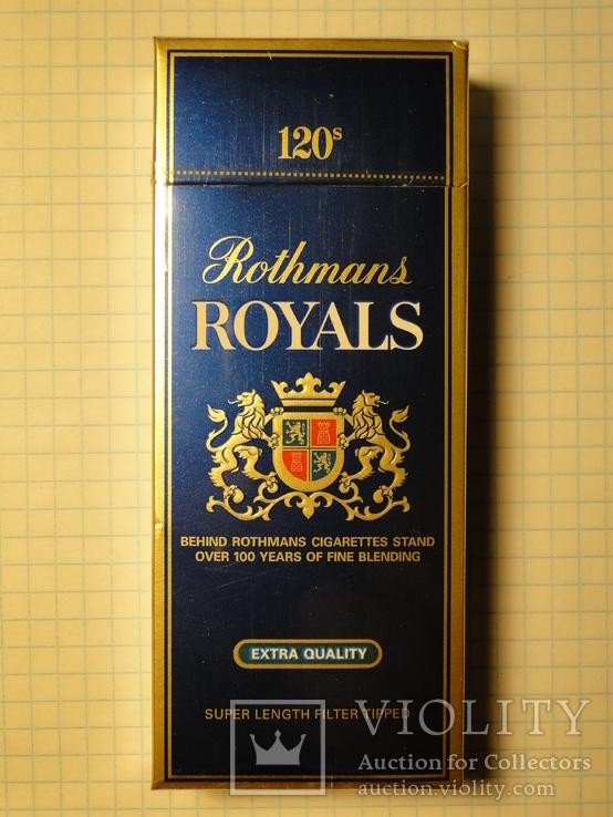 Сигареты rothmans royals купить в москве налог на торговлю табачными изделиями