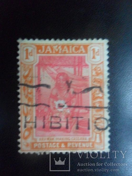 Британские колонии. Ямайка. 1921 г.  гаш