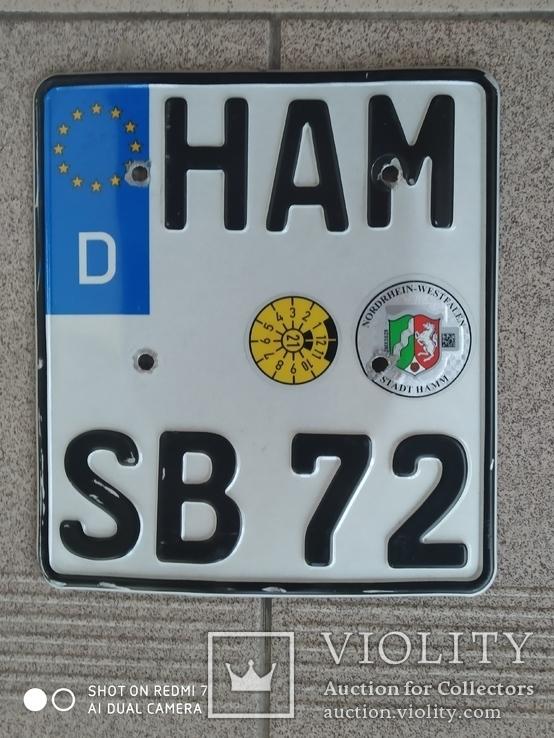 """Мото номер  """"ХАМ"""", фото №2"""