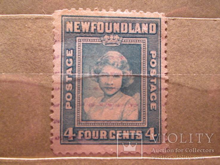 Ньюфаундленд 1938 королевская семья гаш
