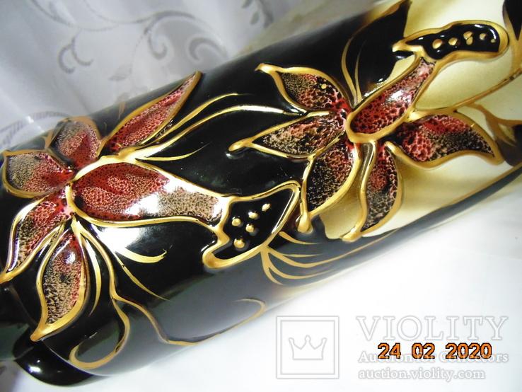 Шикарная Ваза - амфора. 40 см., фото №4