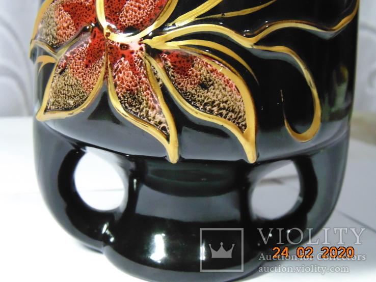 Шикарная Ваза - амфора. 40 см., фото №12