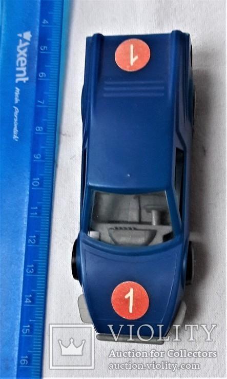 Машинка спортивная 1:43 СССР (8), фото №3