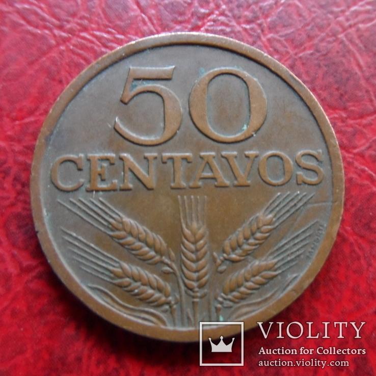 50  центавос 1970  Португалия    ($7.1.43)~, фото №2