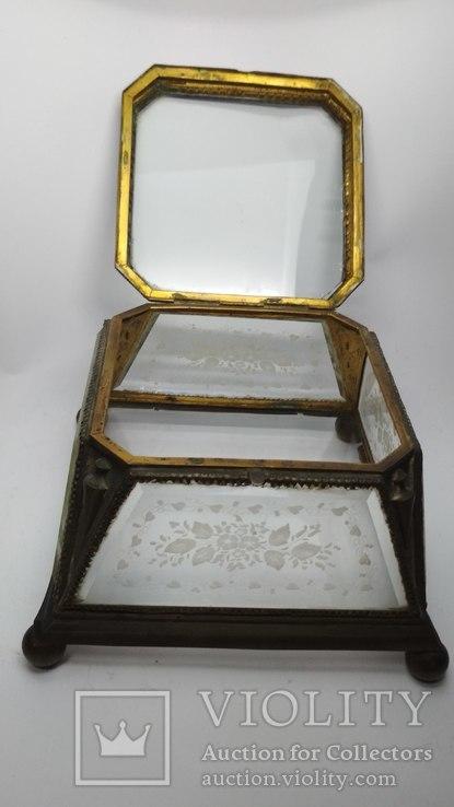 Старинная шкатулка - конфетница, фото №5