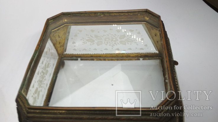 Старинная шкатулка - конфетница, фото №10