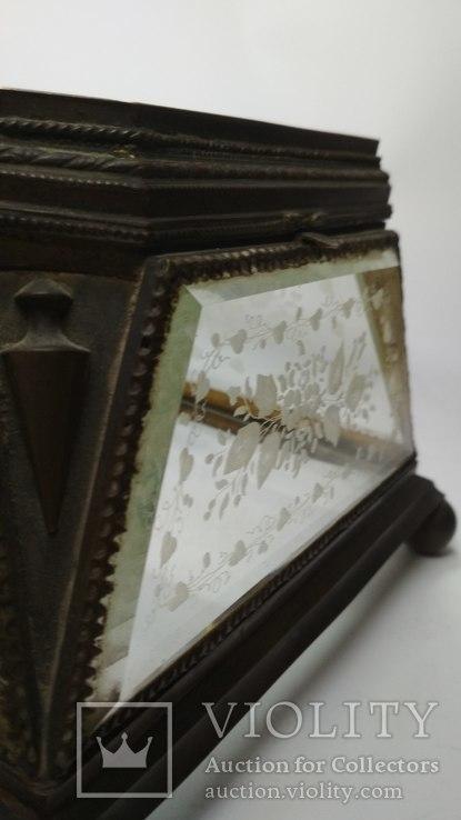 Старинная шкатулка - конфетница, фото №11