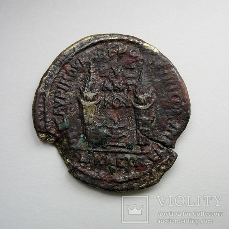 Требониан Галл, альянс Византия и Никеи, АЕ27 мм