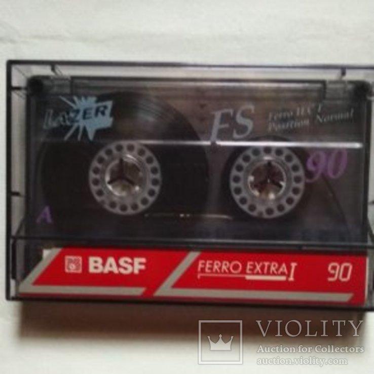 Новая аудиокассета BASF+лицензионная EMMANUELLE+18 кассет и бокс, фото №3