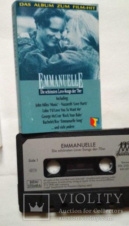 Новая аудиокассета BASF+лицензионная EMMANUELLE+18 кассет и бокс, фото №4