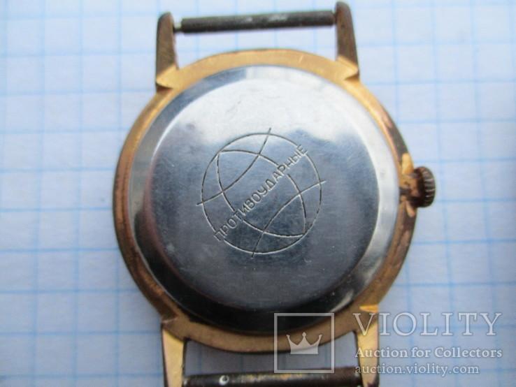 Часы позолота + часть браслета, фото №7