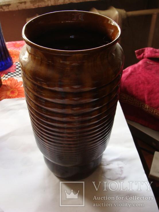 Керамическая большая ваза, фото №2