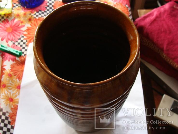 Керамическая большая ваза, фото №3