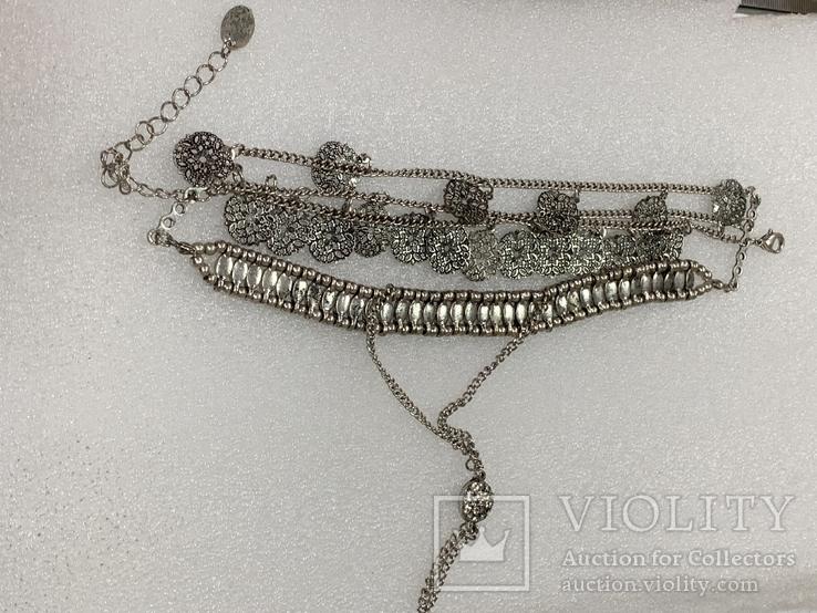 Винтажный металический браслет с Англии 26 грамм, фото №3