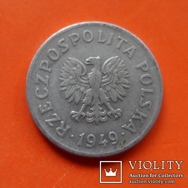50 грош  1949 Польша    (Т.14.12)~, фото №2
