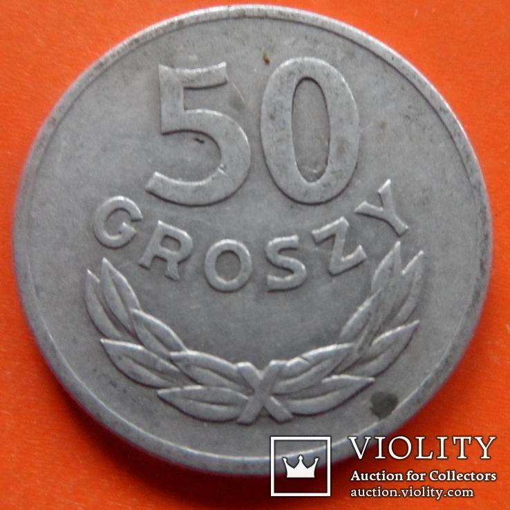 50 грош  1949 Польша    (Т.14.12)~, фото №3