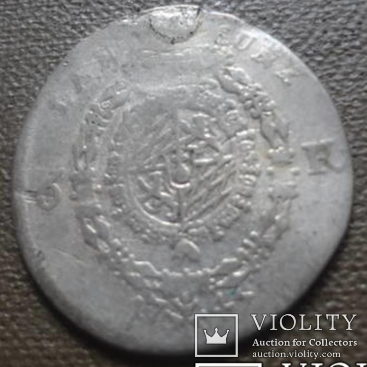 Бавария 6 крейцеров 1747 серебро (7,6,6), фото №4