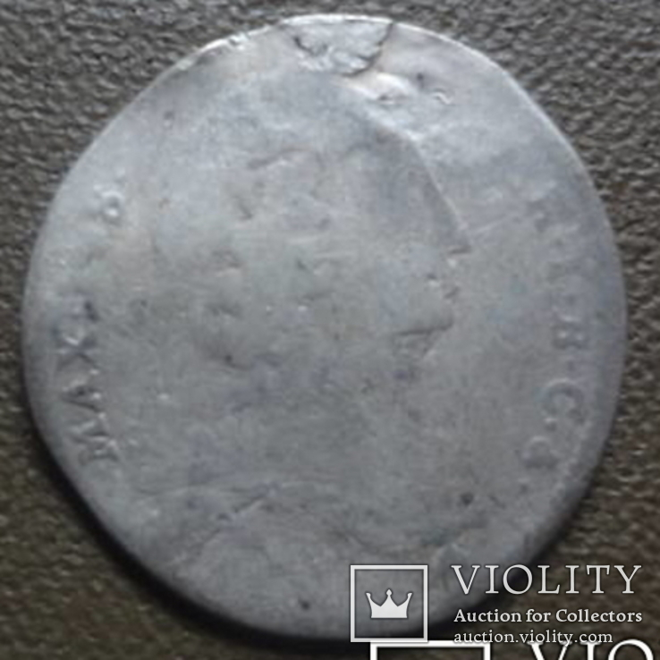 Бавария 6 крейцеров 1747 серебро (7,6,6), фото №5