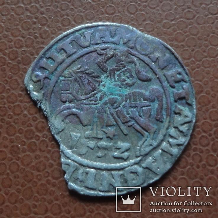 Полугрош  1552  серебро  (М.5.32)~, фото №2