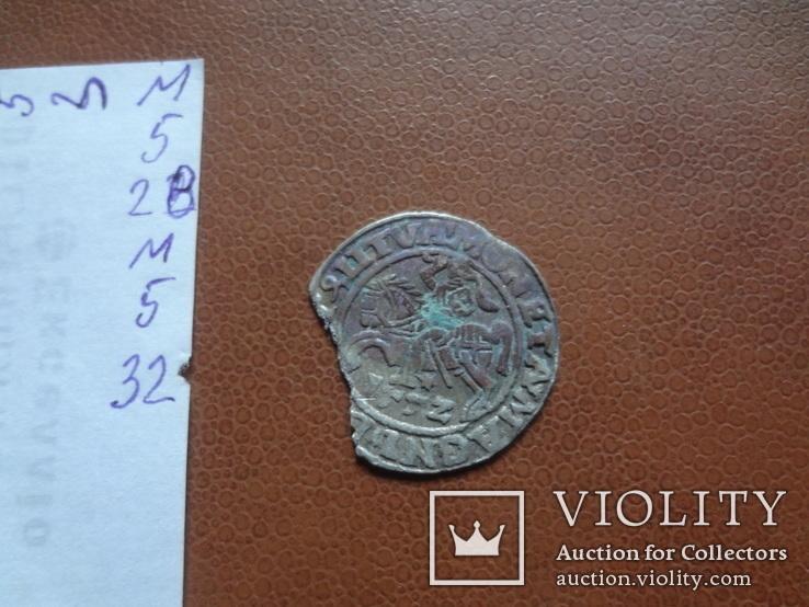 Полугрош  1552  серебро  (М.5.32)~, фото №5