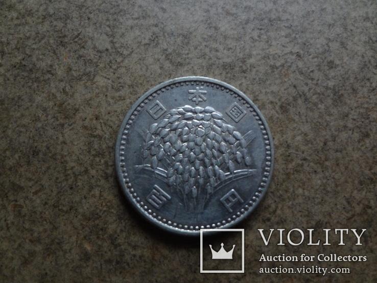 100  ен Япония серебро    (У.3.11)~, фото №3