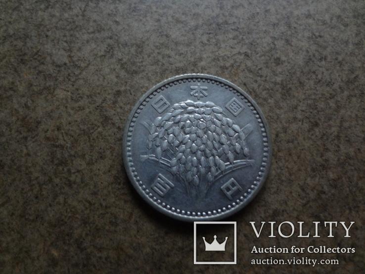 100 ен Япония  серебро   (У.4.10)~, фото №3