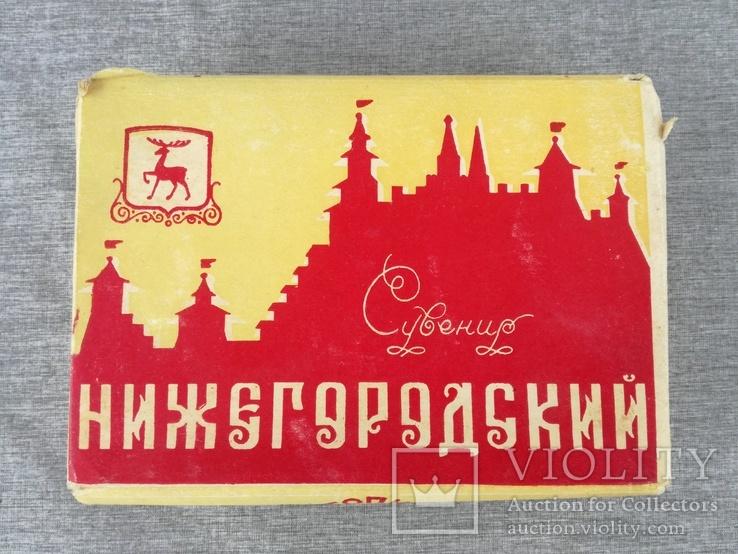 Стопки 6 шт. фарфор Нижегородский сувенир в родной упаковке, фото №6