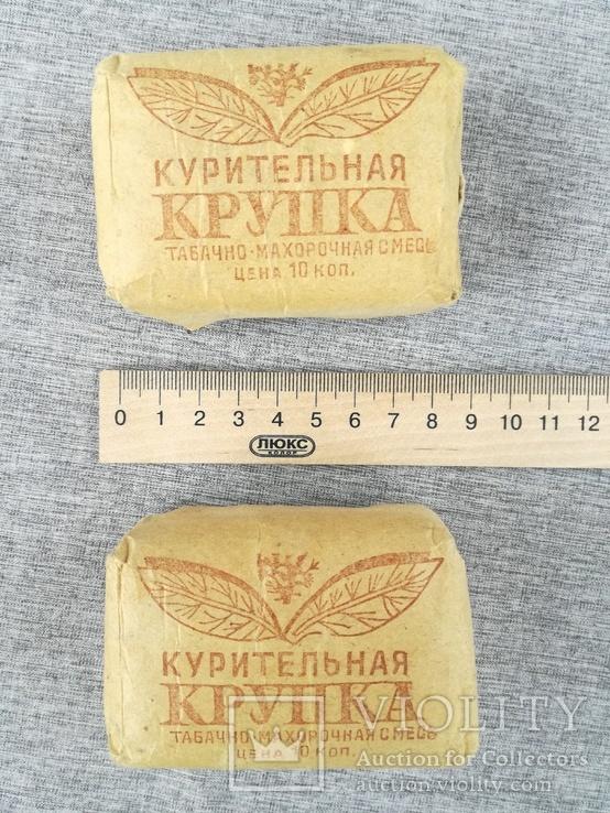 Курительная крупка табак махорка 1978 год СССР, фото №8