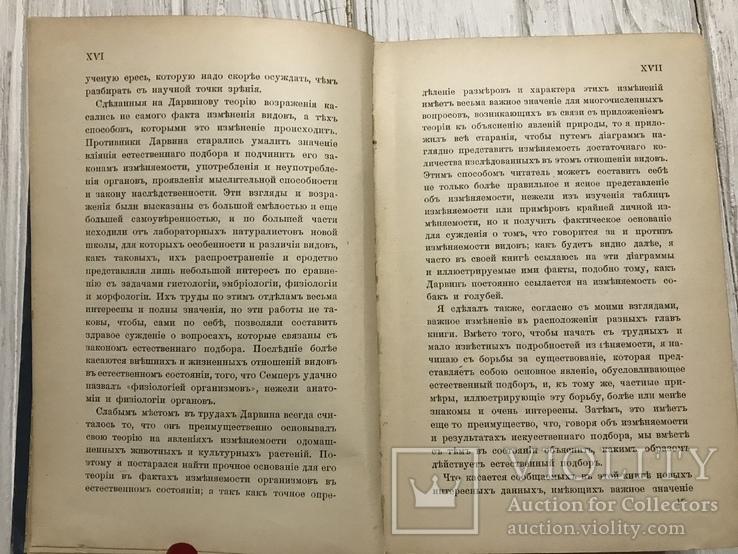1898 Дарвинизм: Теория естественного подбора, фото №8