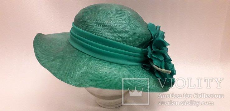 """Жіночий капелюшок фірми """"Kangol design"""" 100% сизаль, фото №3"""
