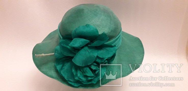 """Жіночий капелюшок фірми """"Kangol design"""" 100% сизаль, фото №4"""