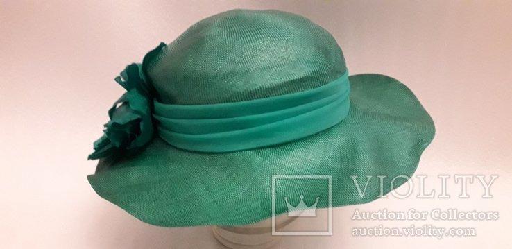 """Жіночий капелюшок фірми """"Kangol design"""" 100% сизаль, фото №5"""
