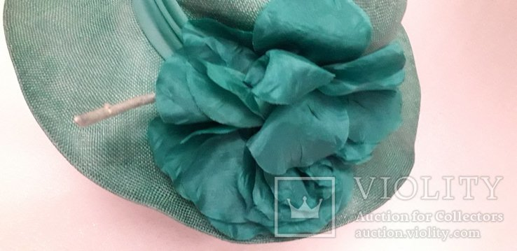 """Жіночий капелюшок фірми """"Kangol design"""" 100% сизаль, фото №6"""