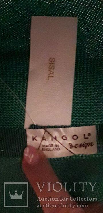 """Жіночий капелюшок фірми """"Kangol design"""" 100% сизаль, фото №8"""