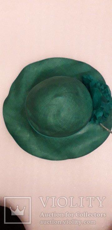 """Жіночий капелюшок фірми """"Kangol design"""" 100% сизаль, фото №2"""