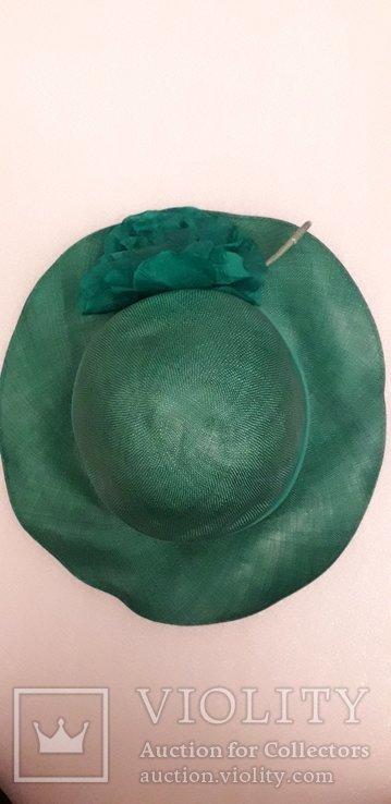 """Жіночий капелюшок фірми """"Kangol design"""" 100% сизаль, фото №9"""